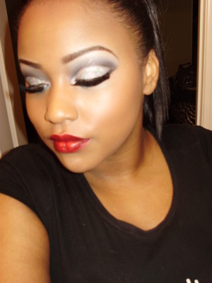 dramatic new years look