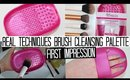 Real Techniques Brush Cleansing Palette | FIRST IMPRESSIONS WEEK!