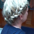 Side French braid!