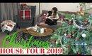CHRISTMAS HOME DECOR TOUR 2019 UK   CHRISTMAS FARMHOUSE INSPIRED