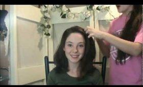 School Hair - Twisted Braid for Shorter Hair