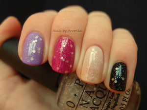 Playing with OPI on different bases :) www.arvonka-nails.blogspot.com