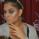 Christmas/New Year Eve makeup look