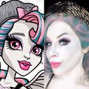 Rochelle Goyle Monster High Halloween Makeup