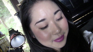 Blurry :/ Bold lip.