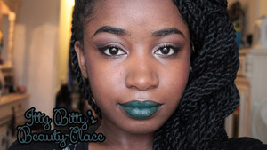 Green lips for St.Patrick's Day!  ♥♥ Eyes ♥ UD Primer Potion ♥ NYX Base in Milk ♥ Too Faced Chocolate Bar Palette ♥ UD 27/7 Liquid Liner in Perversion ♥ UD 24/7 Pencil Liner in Perversion   ♥♥ Face ♥ Smashbox SPF Primer ♥ Dior BB Cream - 004 ♥ NARS Lovejoy   ♥♥ Lips ♥ NYX Espresso Pencil ♥ Melt Cosmetics Blow