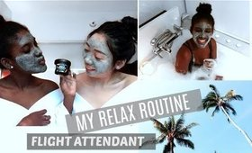 RELAX w/ me FLIGHT ATTENDANT ON LAYOVER | JANET NIMUNDELE