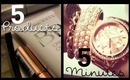 ♥ School Makeup: 5 Products, 5 Minutes!  ||  RachhLoves ♥