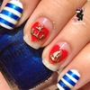 Nautical Sailor Nails