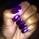 Chroma Purple Nails