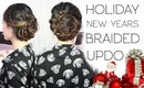 Holiday & NYE Braided Updo | Cerinebabyyish