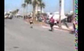 Pensacola beach triathlon finish