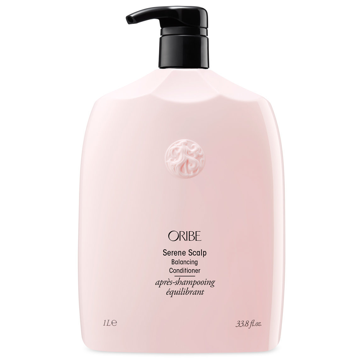 Oribe Serene Scalp Balancing Conditioner 1 L product swatch.