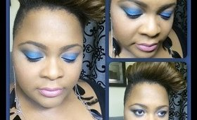 December Zircon / Turquoise Birthstone Makeup Turtorial