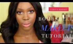 Bombshell makeup  tutorial using anastasia beverly hills modern renaissance palette & candy k
