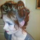 Up-Do And Day Makeup