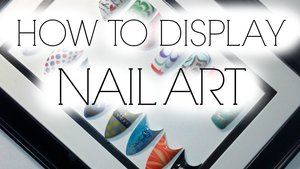 Step by step on how to display your nail art for you personally for clients to see or to showcase!   https://www.youtube.com/watch?v=SsoRlOSEeYU&index=8&list=UULPN755EcXg3Wa_PrwW0kNQ
