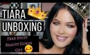 TIARA UNBOXING!! FREE STUFF BEAUTY GURUS GET!!! #unboxing #beautycommunity
