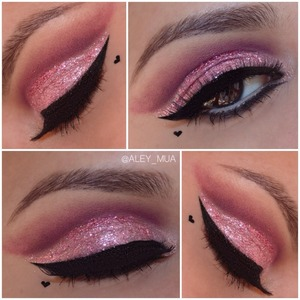 This is my valentines inspire makeup i will post details of the products that i used on my next post #micabeautyvalentine  #aley_mua
