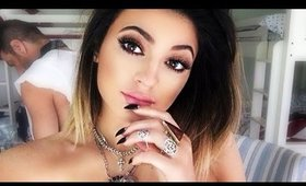 """Super SEXY Kylie Jenner Selfie - Gold/Copper Smoky Eye Makeup Tutorial using MULAC """"Different"""""""