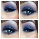 Purple smokey eye !
