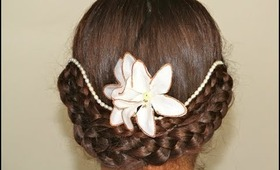 Updo Hairstyle -for Bridal/Wedding/Prom/Homecoming/Party |makeupinfo|