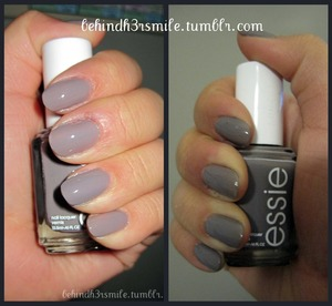 Essie's Chinchilly nail polish