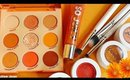 NEW Colourpop ORANGE YOU GLAD Collection Swatches | Lillee Jean