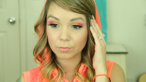 My makeup looks for EDC 2014. Achieved with the BH Cosmetics 60s Palette