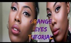 Orange Eyes Tutorial