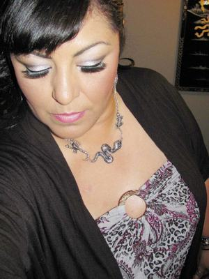 Silver and Black .. On my date night