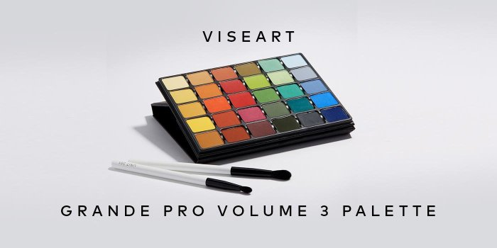 Shop Viseart's Grande Pro Volume 3 Palette on Beautylish.com