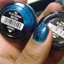 China Glaze: Blue Iguana & Bling It On
