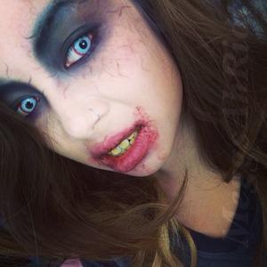 Quick zombie look I created.