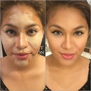 Contour And Highlight On Medium Skin