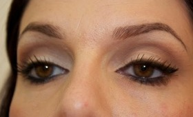 Neutral earthy cut crease, makeup tutorial