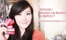 REVIEW | Revlon Lip Butter & DUPES?!