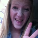 idk why I always do the peace sign.. it just comes naturally. like my freckles