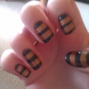 Gold/Black Stripes