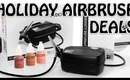 NEW Airbrush Demo & Holiday Coupons!