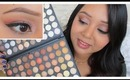 Get ready with me - Orange Smokey eyes!! (ft. 120 Neutral Eyeshadow Palette)