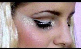 Halloween Series: Angel / Ice Princess Glittery Makeup Tutorial