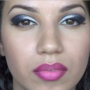 Glitter Cut Crease & Ombre Lips