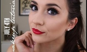 July 4th Makeup Tutorial + Chit Chat Update