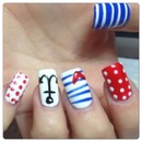 Sailor NailArt