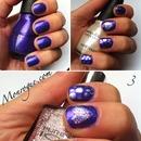 Purple Polka Dots & Hearts