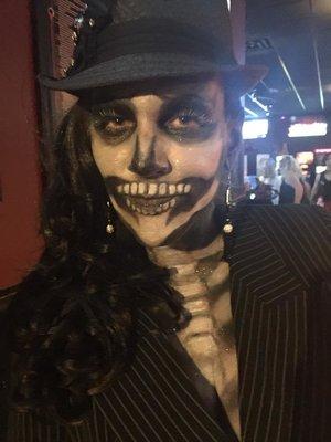 Skull Makeup by Christy Farabaugh