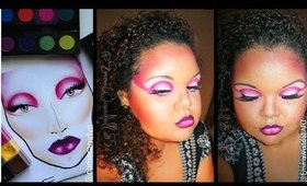 Face Chart Inspired Series | Xtreme Pink Cut-crease