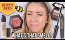 FULL FACE Testing BURTS BEES Makeup?! || What Worked & What DIDN'T
