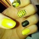 Black & Lime